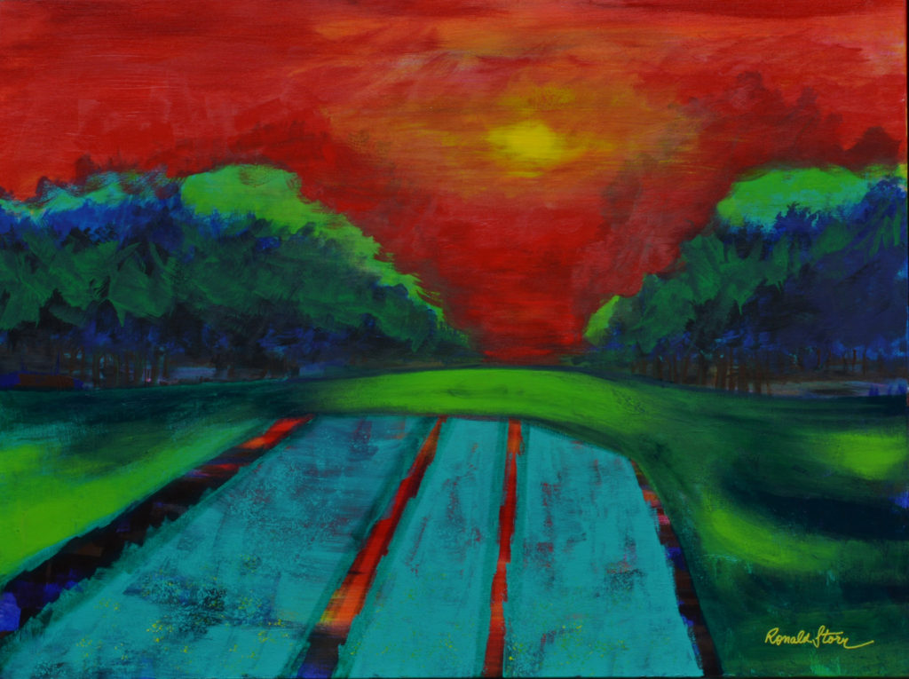 #249 - Acres In Motion - 36 x 48 inch - Acrylic on Canvas