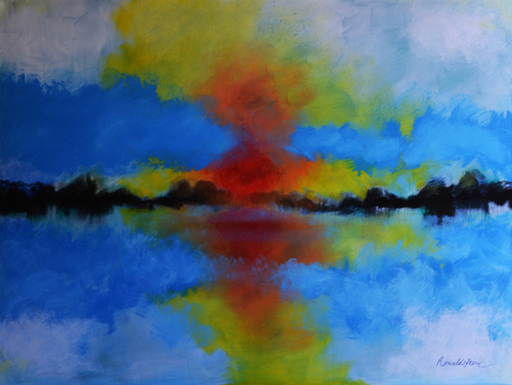 #180 - Understanding Destinations - 36 x 48 inch - Acrylic on Canvas