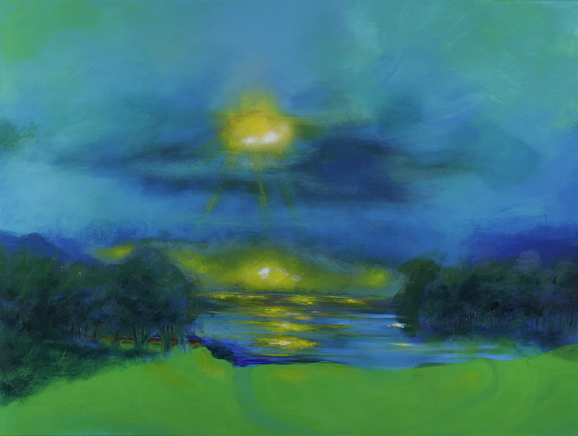 Healing Horizons - 36 x 48 inch Acrylic on Canvas